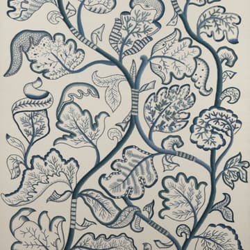 Large Tree of Life in Blue Wool