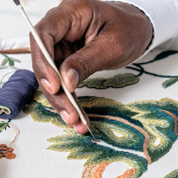 Tree of Life Embroidered by Hand – Greensleeves