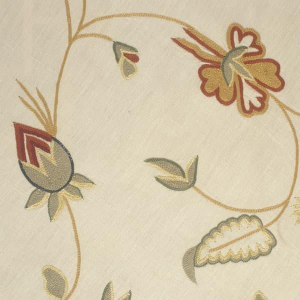 F101 I Detail View 2 Copy 8 – Queen Anne vine in rust intense