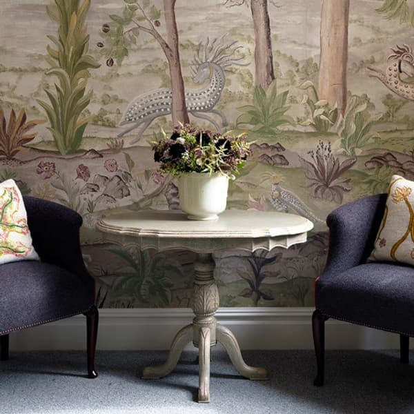 Firmdale Charlottestreet Acanthus Table Chelseatextiles – Acanthus pedestal table