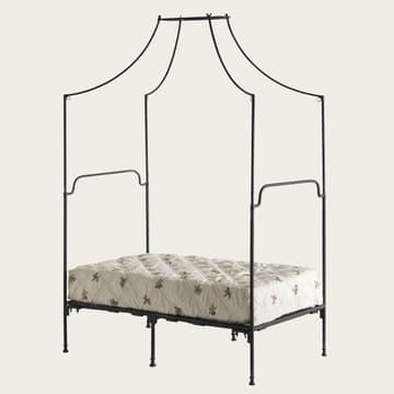 Provence four poster bed with metal frame
