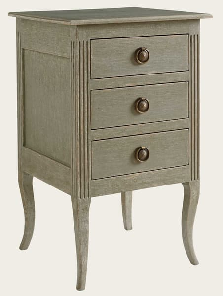 Pro033 36A – Bedside table with fluting