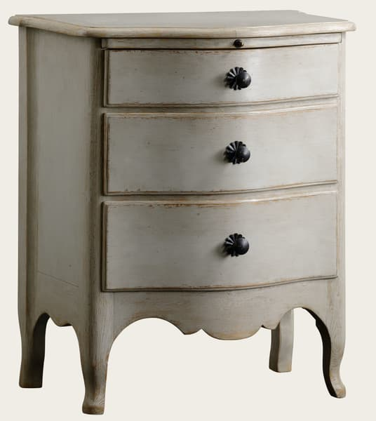 Gus074 A 8A – Bedside table with slide in shelf