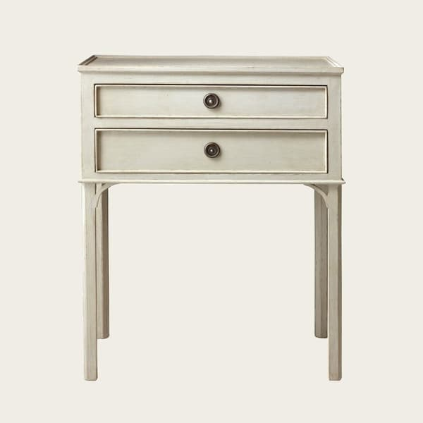 Gus031L 5 – Large bedside table with two drawers