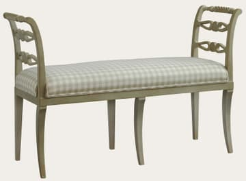 Bench with side rails