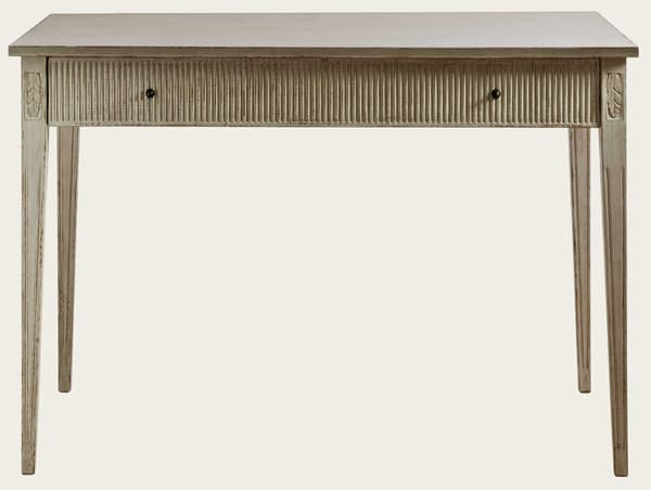 Gus071A 5 – Writing desk with ribbed drawer