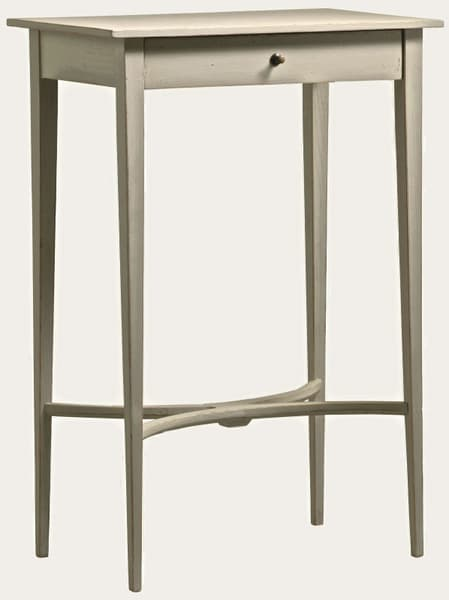 Gus086 5A – Side table with curved slats