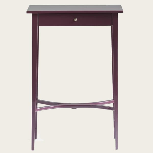 Gus086Lq 23V12 – Side table with curved slats