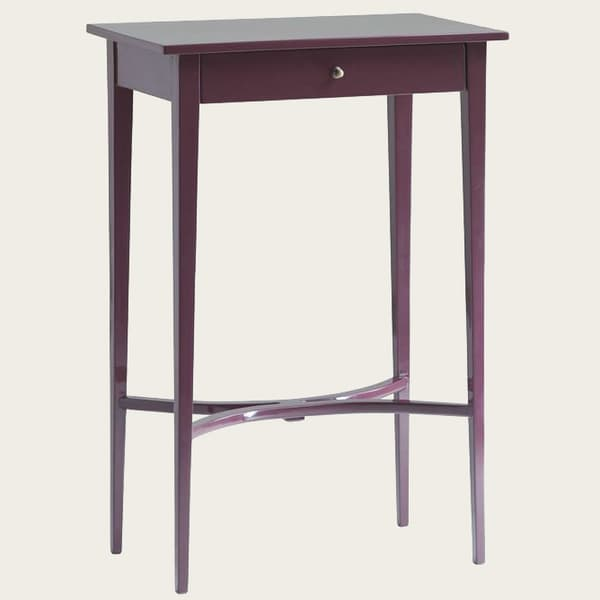 Gus086Lq 23V13 – Side table with curved slats