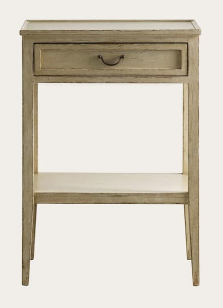 Gus108 38 1 – Side table with drawer & shelf