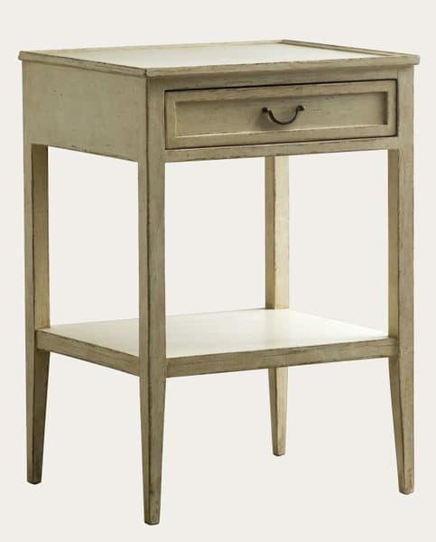 Gus108 38A 1 – Side table with drawer & shelf