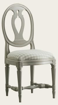 Chair with oval back