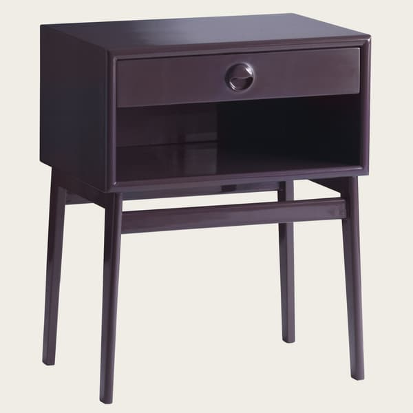 MID038L_23 – Bedside table with wooden pull