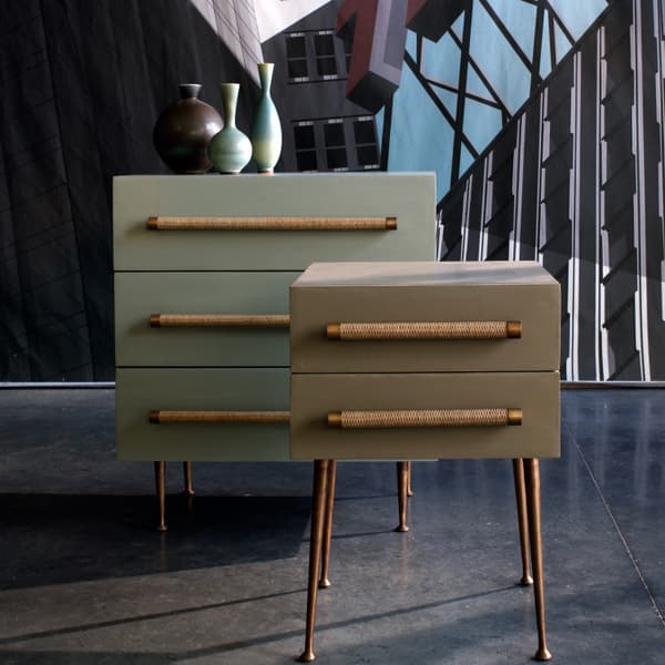 Ct16 103 1 – Small chest of drawers with wicker handles