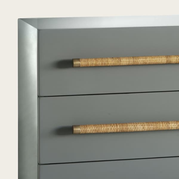 Ct26 16 Copy – Chest of drawers with wicker handles