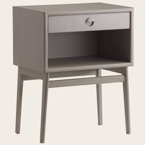 Mid038L 12V2 – Bedside table with wooden pull