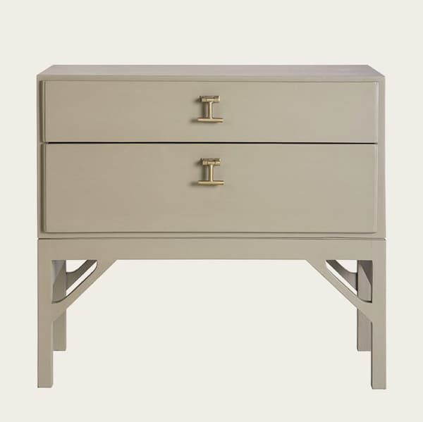 Mid053 12 – Small bedside table with T-bar handles