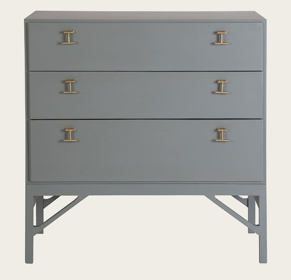 Mid054A 14 – Chest of drawers with T-bar handles
