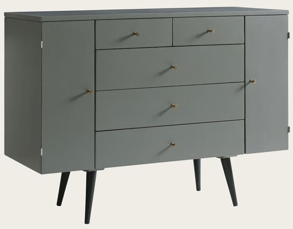 Mid094 14A 1 – Server with side doors & drawers