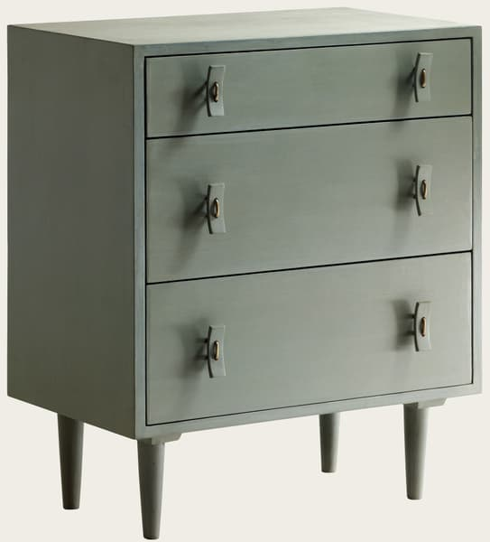 Mid 052V2 1 – Small chest of drawers with wood handles