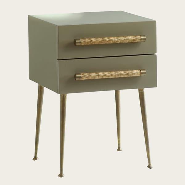 Zqlqhrs Cfyzfwu5Klmhobsyc7Zr5Uyszcg2Wzb1G44 – Bedside table two drawers & wicker handles