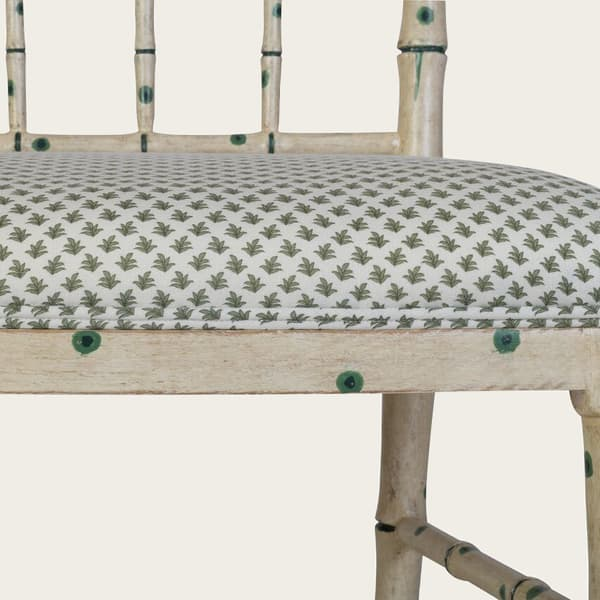 TRO026_38GD – Faux Bamboo chair