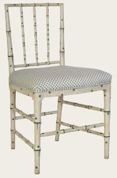 Faux Bamboo chair