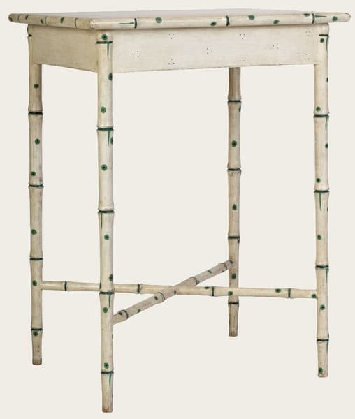Tro080 38A – Faux bamboo side table