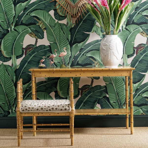 Tro090 Ls – Faux bamboo console