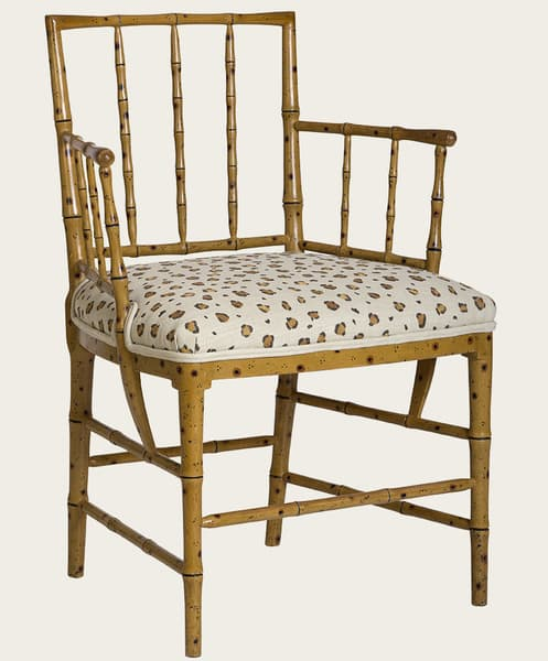 TRO027 – Faux bamboo armchair