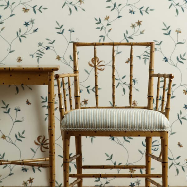 Tro027L – Faux bamboo armchair