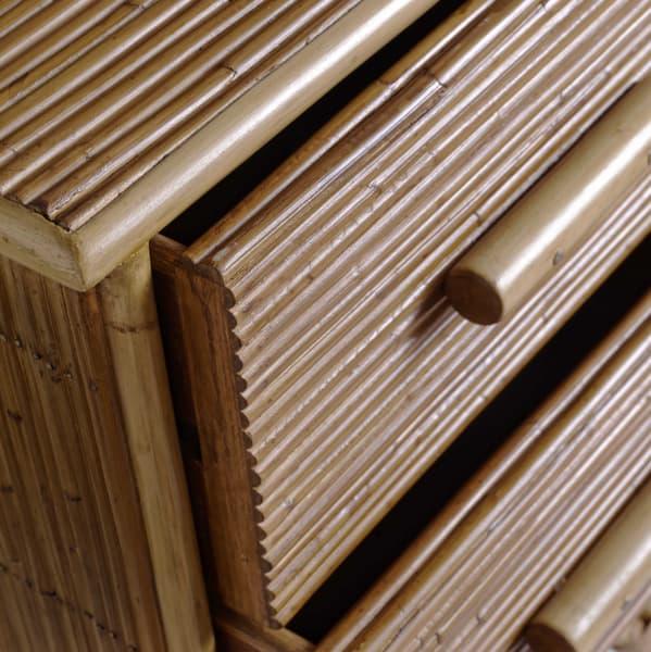 Tro030D – Split cane bedside table