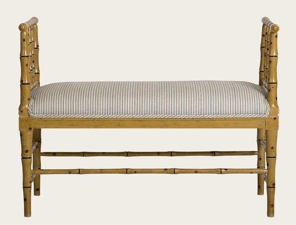 Tro067 – Faux bamboo bench
