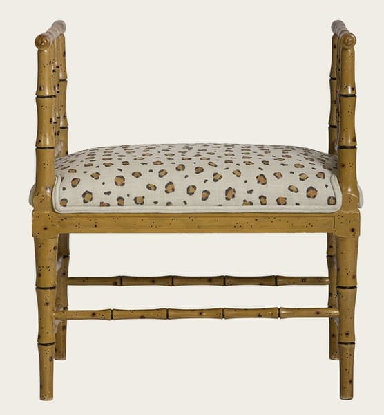 Tro067 A – Faux bamboo small bench