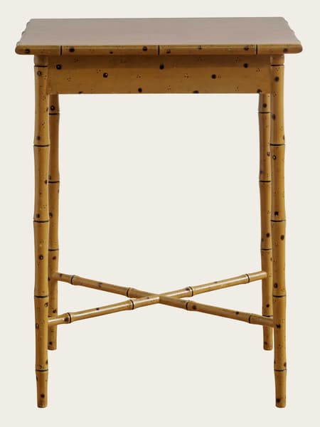 Tro080 – Faux bamboo side table