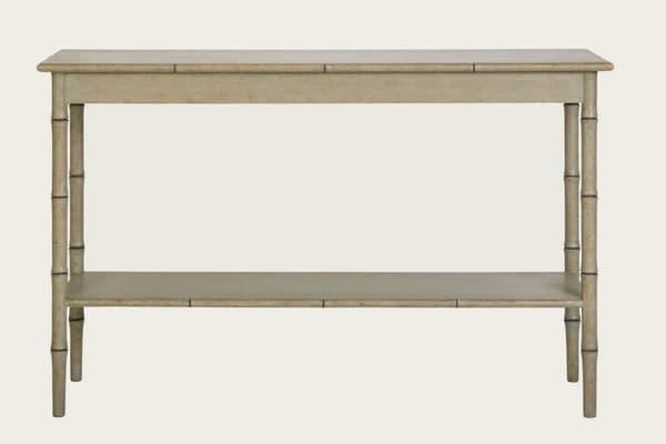 Tro090B 1 – Faux bamboo console