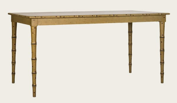 Tro102A – Faux bamboo dining table