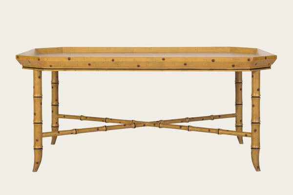 Tro150 – Faux bamboo coffee table