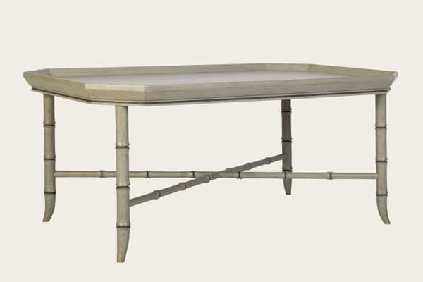 Tro150 10A – Faux bamboo coffee table