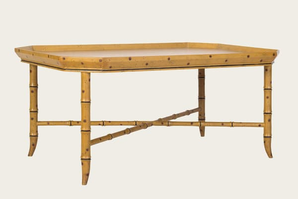 Tro150A – Faux bamboo coffee table