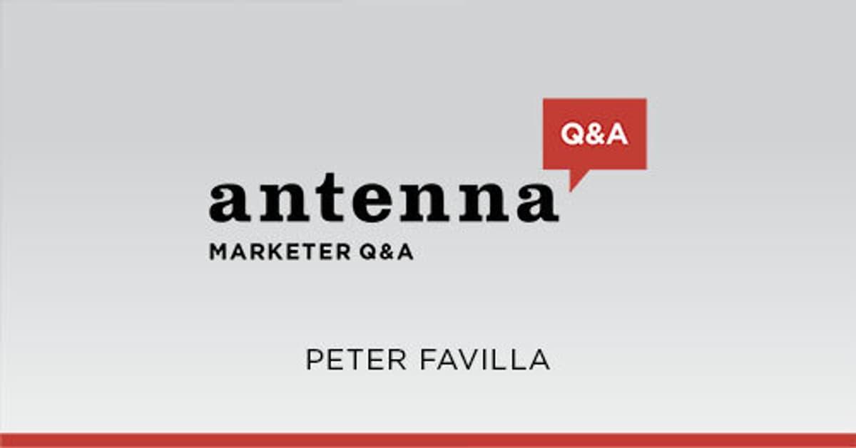 Peter Favilla Marketer QA for site