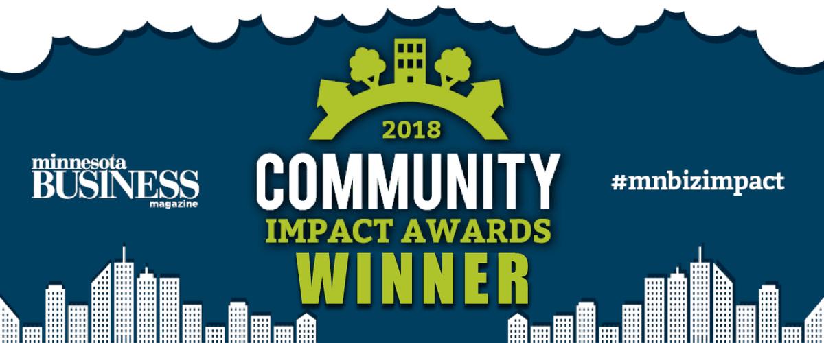 Community impact winner