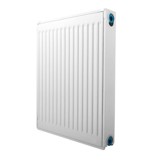 Demrad radiator med bundtilslutning type 21