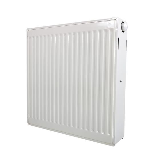 Demrad radiator med bundtilslutning type 22