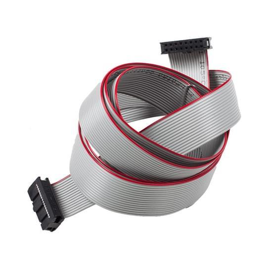 Fladt kabel fra styring til display