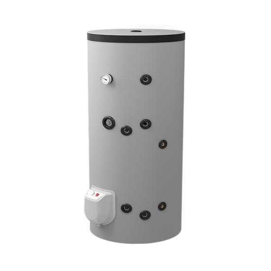 Fritstående combi varmtvandsbeholder med 1 spiral, 200 liter