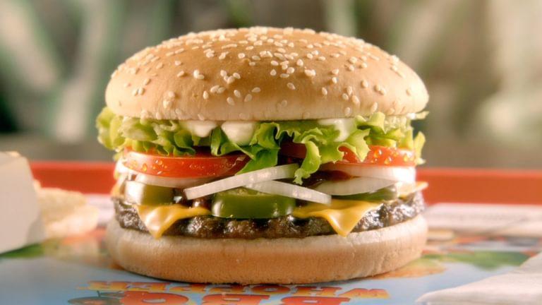 Burger King Hot Bbq Whopper