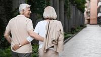 SureSafe Couple Walking Woman with FallSafe