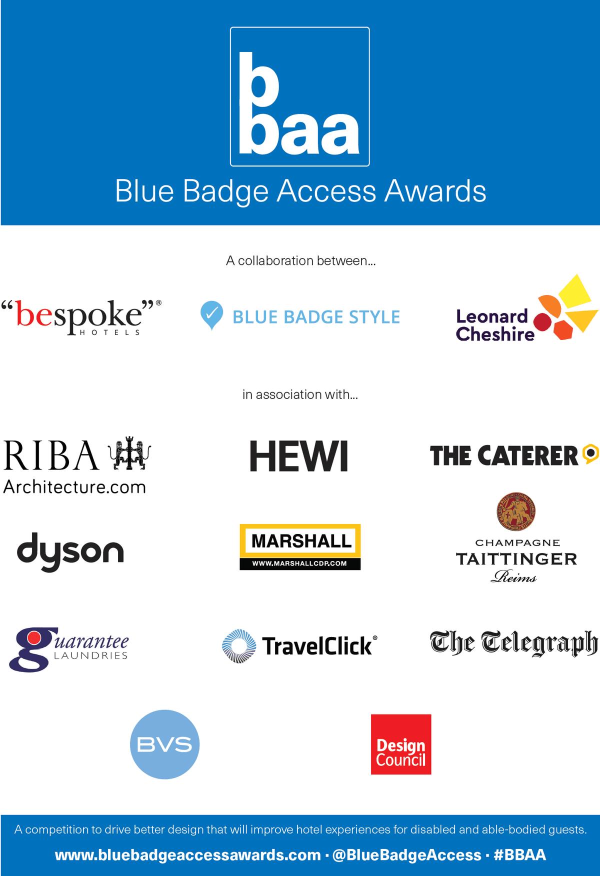 Blue Badge Access Awards 2019