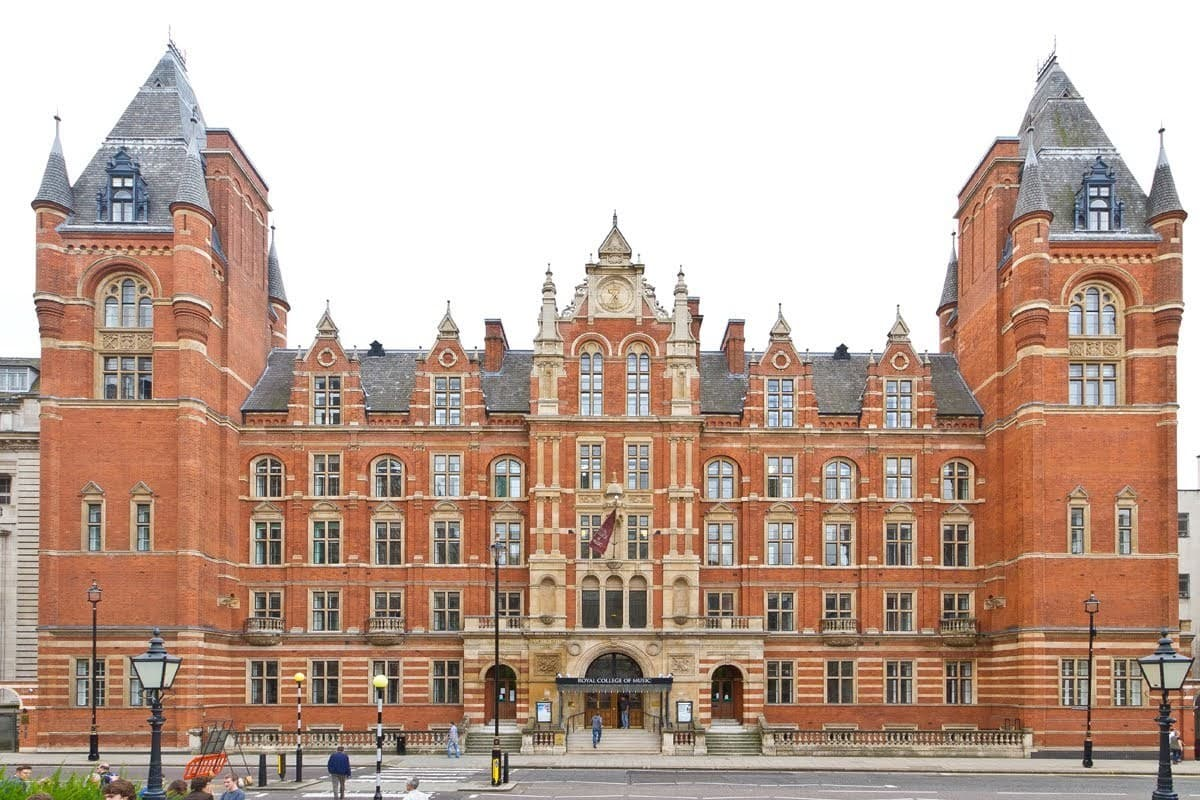 Image of the Royal college of music, listed building with sesame access disabled access.